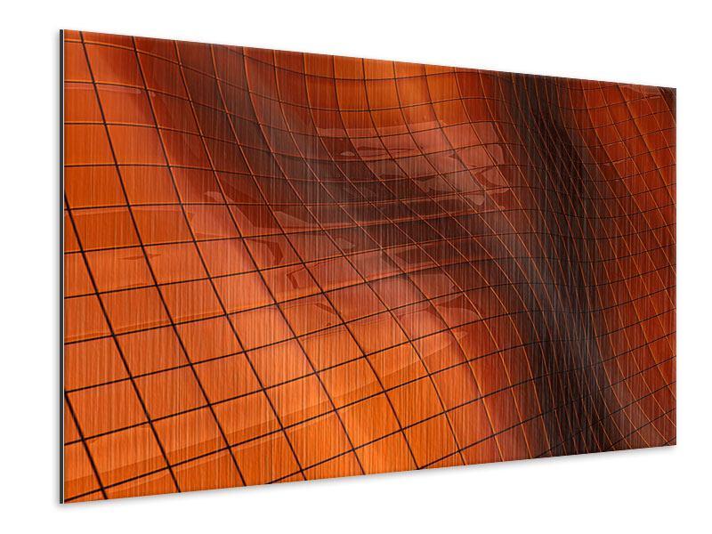 Metallic-Bild 3D-Kacheln