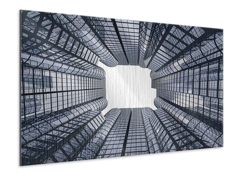 Metallic-Bild Besondere Perspektive