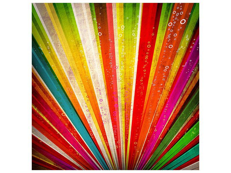 Metallic-Bild Abstrakte Farbstrahlen