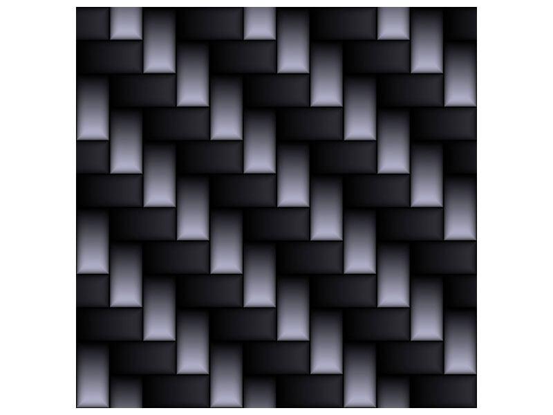Metallic-Bild 3D-Treppen