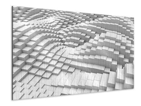 Metallic-Bild 3D-Elemente