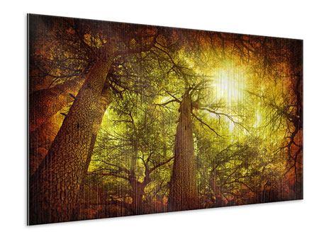 Metallic-Bild Cedar Baum