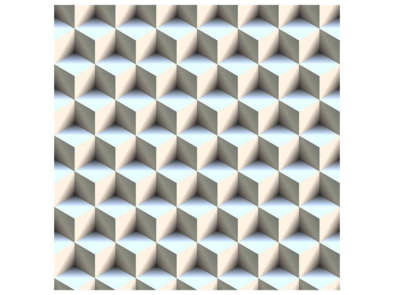 Metallic-Bild 3D-Polytop