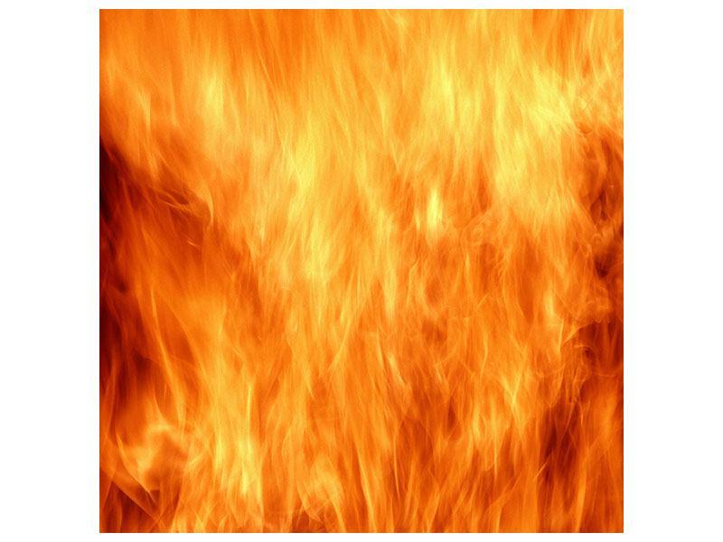 Metallic-Bild Flammen