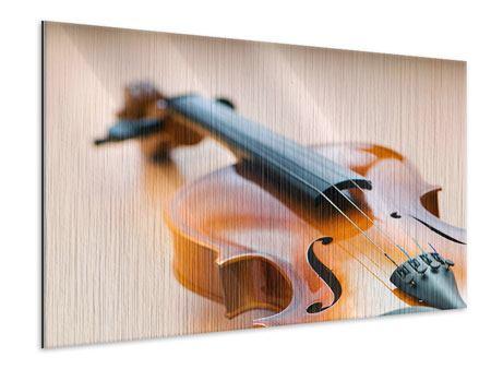 Metallic-Bild Geige