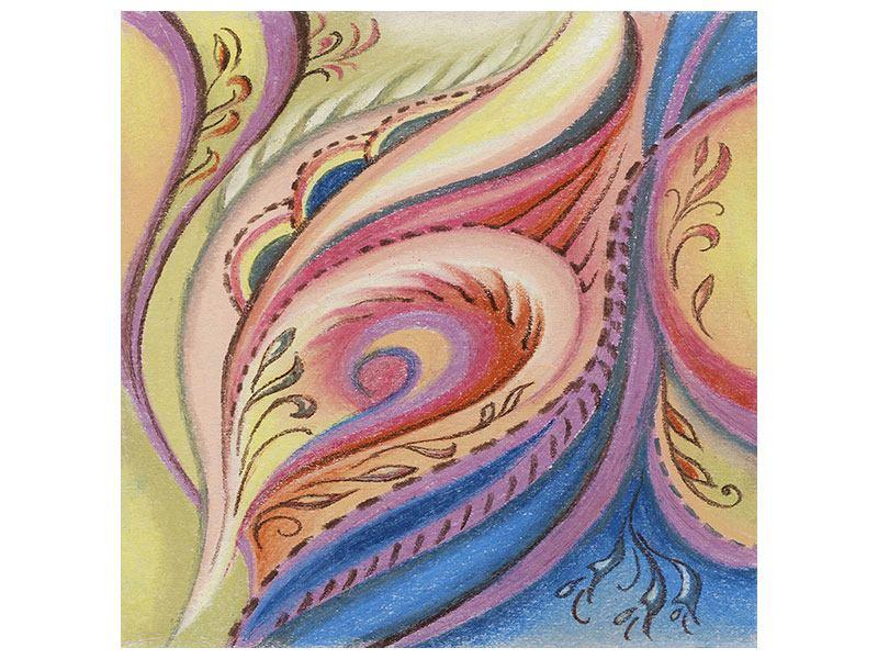 Metallic-Bild Paisley-Malerei