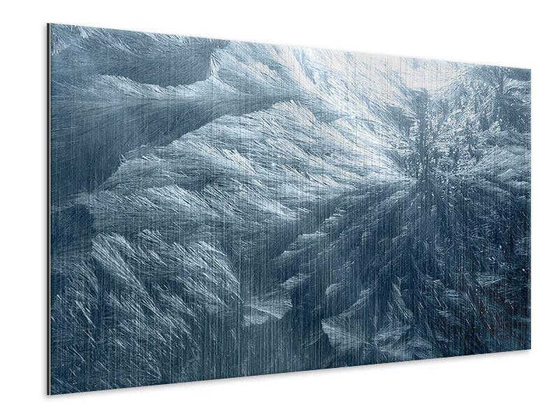 Metallic-Bild Eis