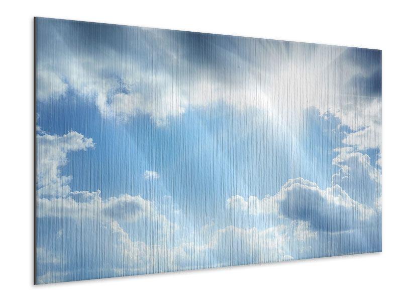 Metallic-Bild Himmelshoffnung