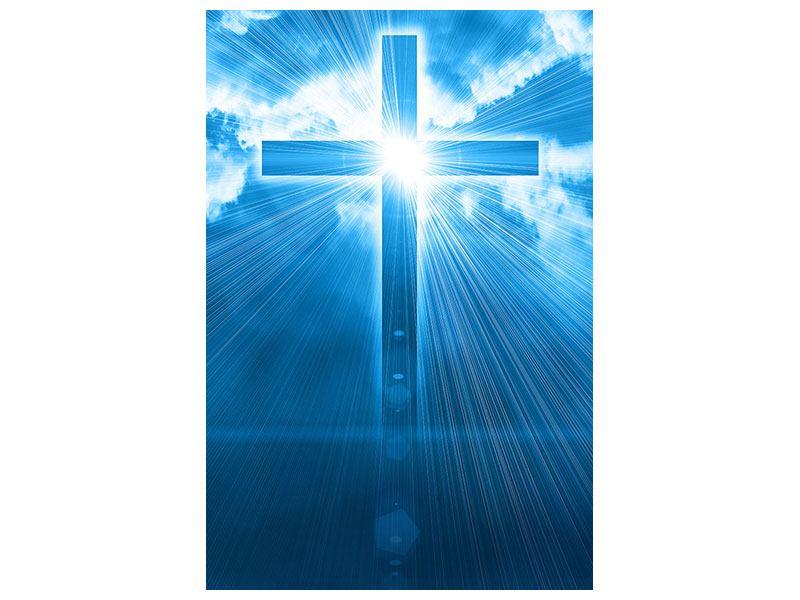 Metallic-Bild Das Kreuz
