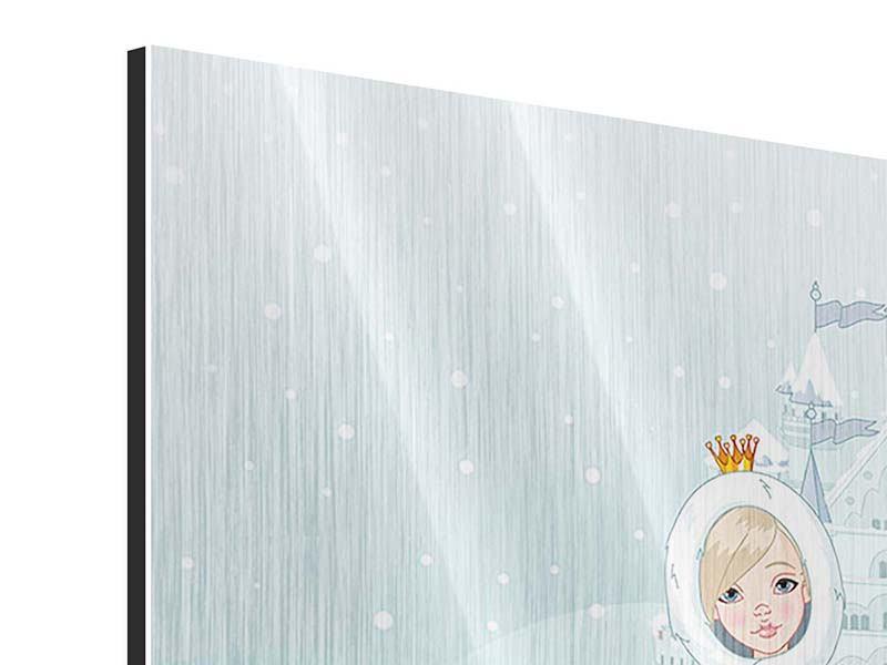Metallic-Bild Prinzessin