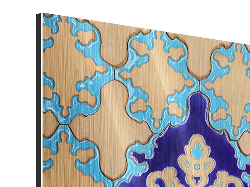 Metallic-Bild Orientalisches Mosaik