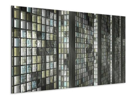 Metallic Print Windows