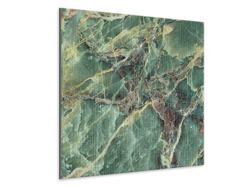 Metallic-Bild Marmor