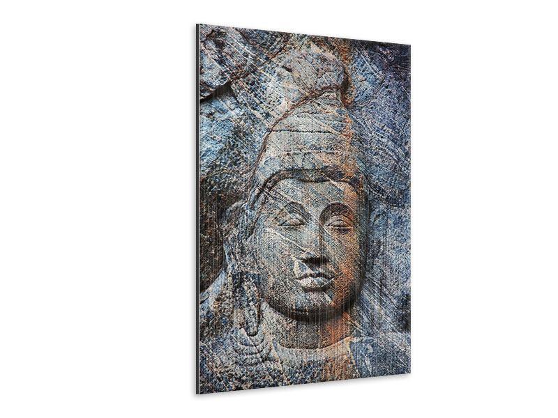 Metallic-Bild Buddhistischer Tempel