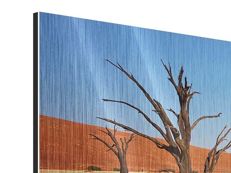 Metallic-Bild Wüste