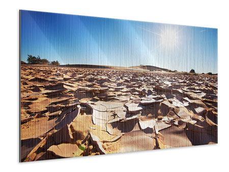 Metallic-Bild Dürre