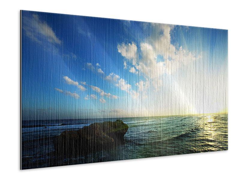 Metallic-Bild Die See
