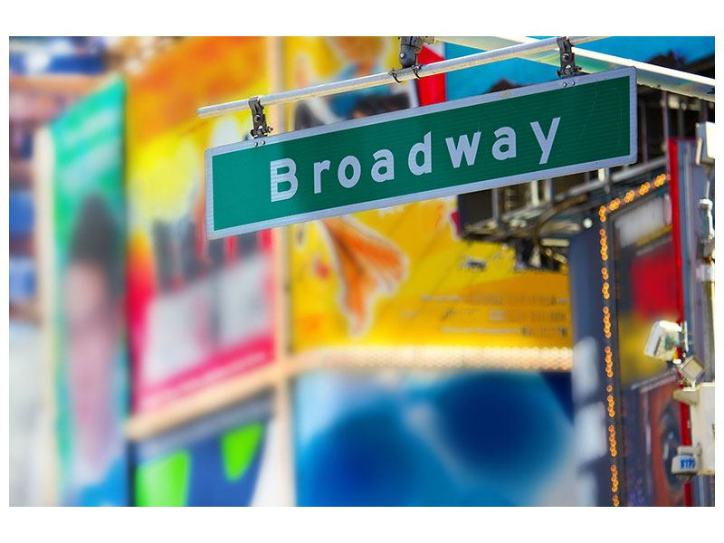 Metallic-Bild Broadway