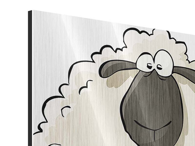 Metallic-Bild The Sheep