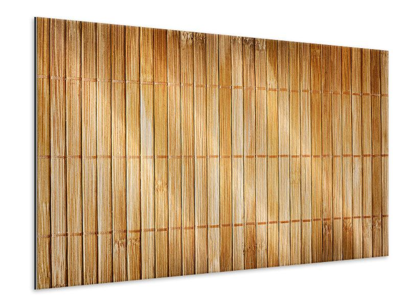 Metallic-Bild Bambusrohre