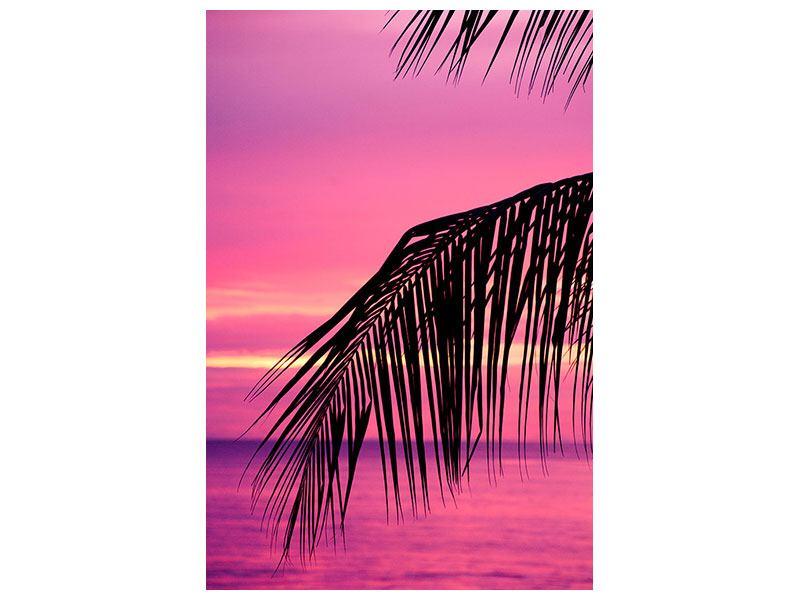 Metallic-Bild Paradise Island
