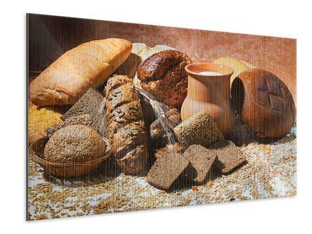 Metallic-Bild Frühstücksbrote