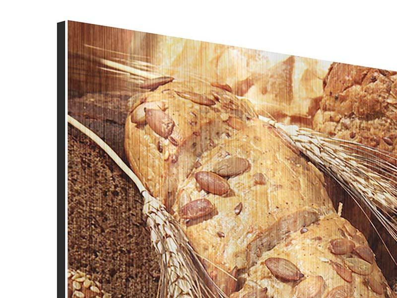 Metallic-Bild Brotsorten