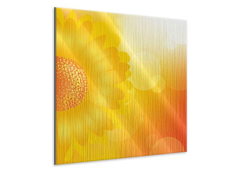 Metallic-Bild Sunflower Power