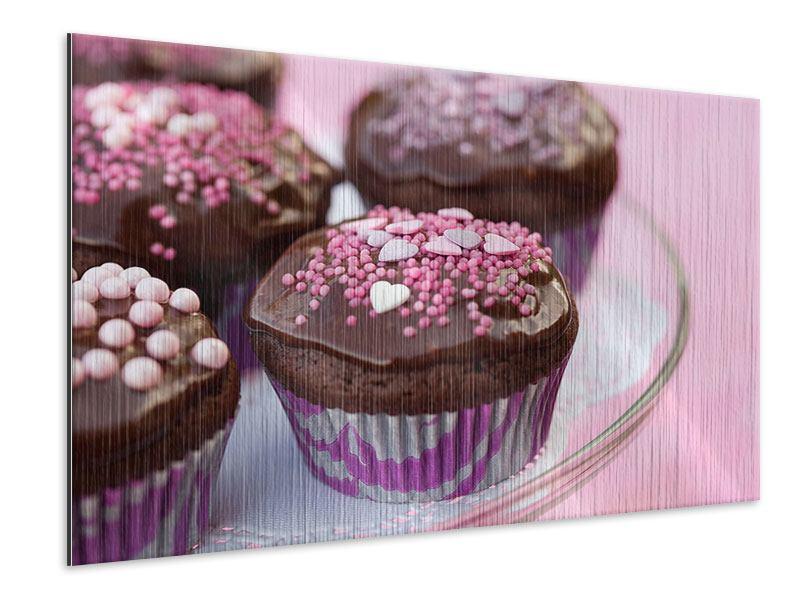 Metallic-Bild Muffins
