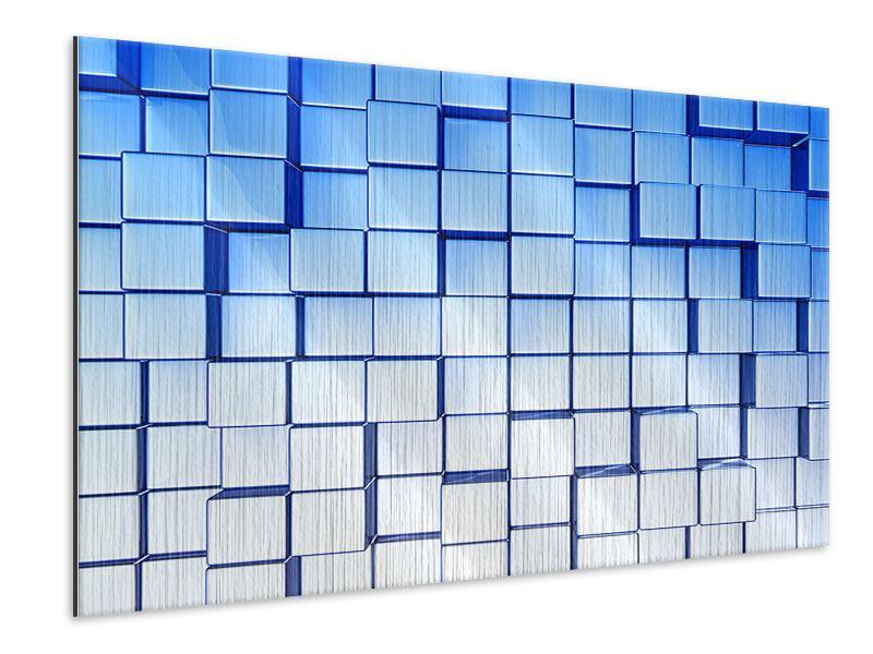 Metallic-Bild 3D-Symetrie