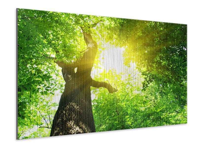 Metallic-Bild Baum