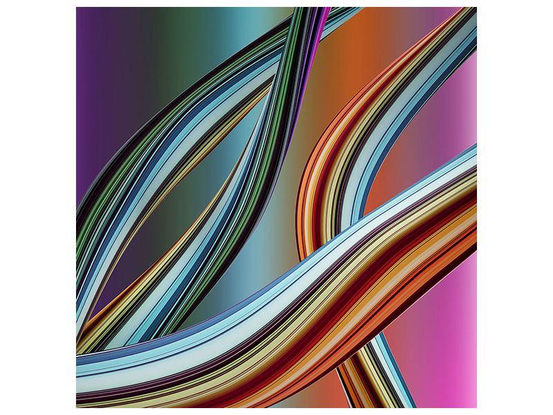 Metallic-Bild Wellengleich