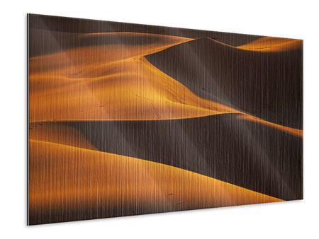 Metallic-Bild Wüstensand