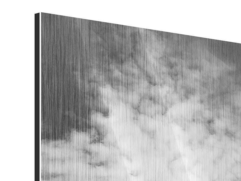 Metallic-Bild Georg-Washington-Bridge