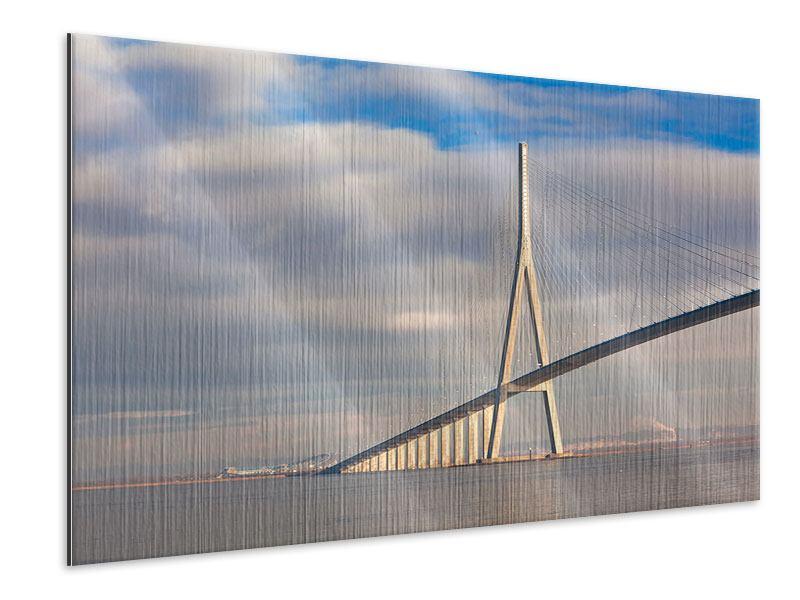 Metallic-Bild Pont de Normandie