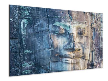 Metallic-Bild Buddha Statur