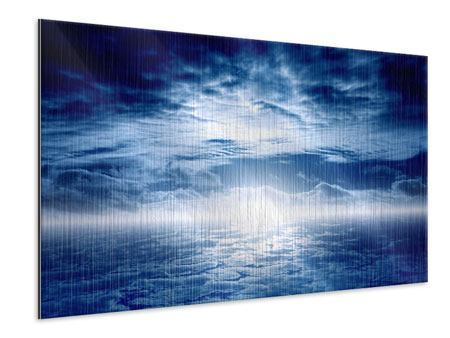 Metallic-Bild Mystischer Himmel