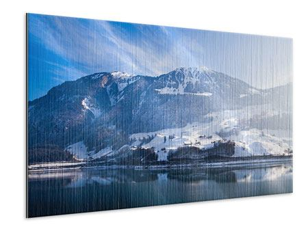 Metallic-Bild Winterwunderland