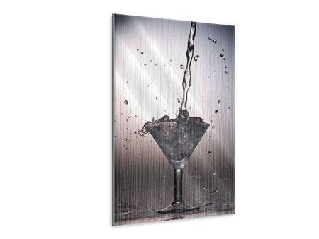 Metallic-Bild Spritziger Martini