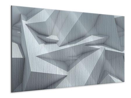 Metallic-Bild 3D-Kristallo