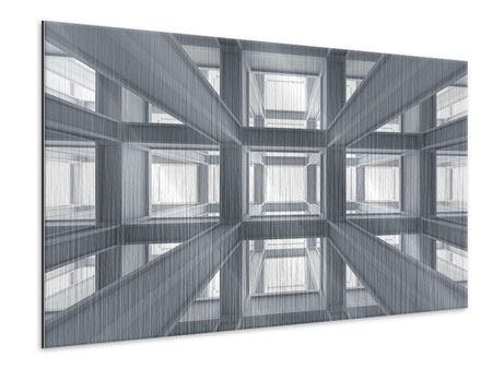 Metallic-Bild Räume