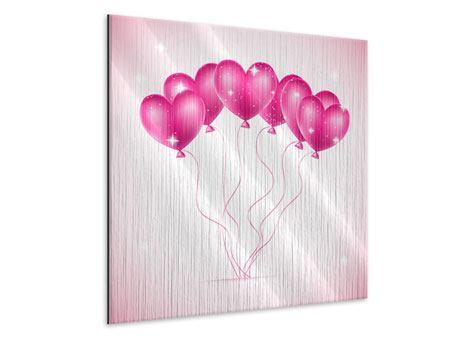 Metallic-Bild Herzballons