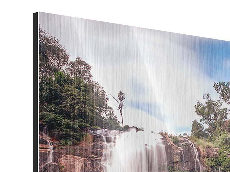 Metallic-Bild Wasserfall in Thailand
