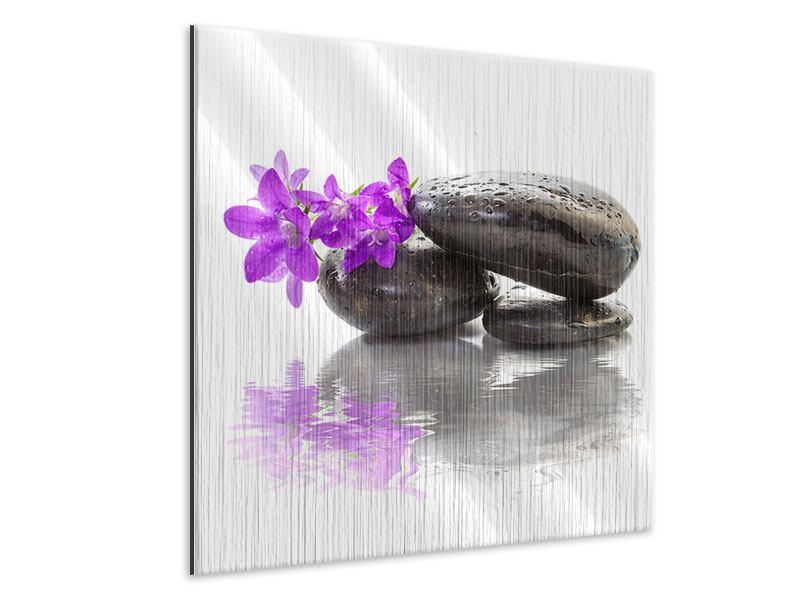Metallic-Bild Feng Shui Steine