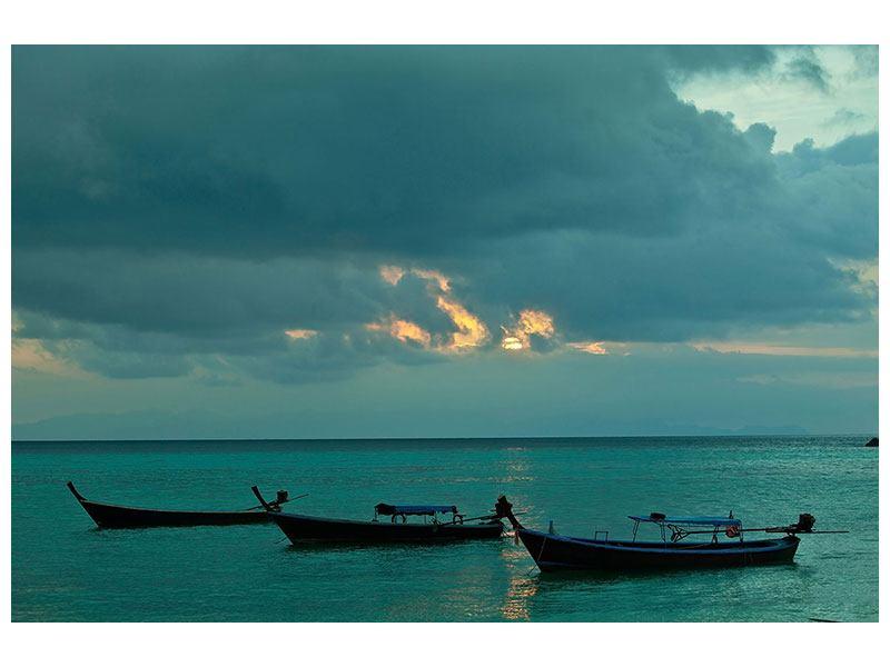 Metallic-Bild Ozean