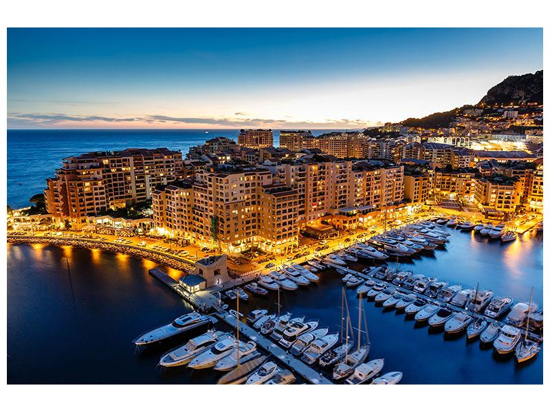 Metallic-Bild Monaco