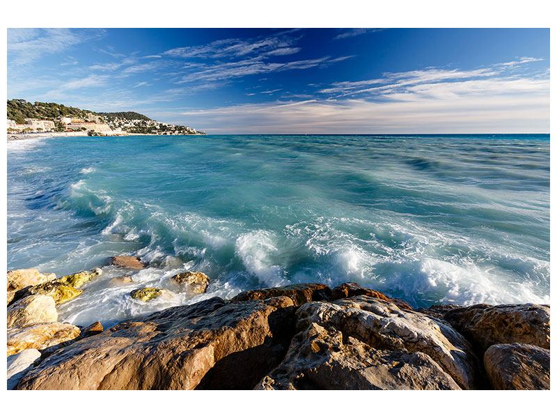Metallic-Bild Cote D`Azur