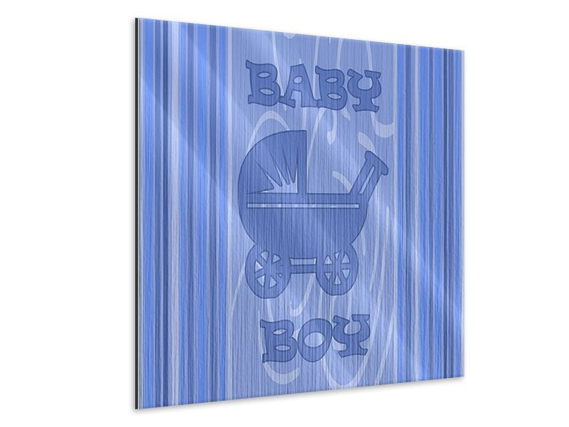 Metallic-Bild Baby-Boy