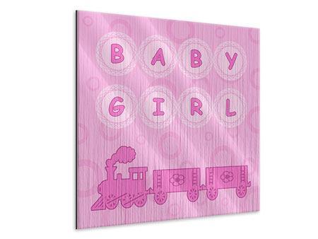 Metallic-Bild Baby-Girl