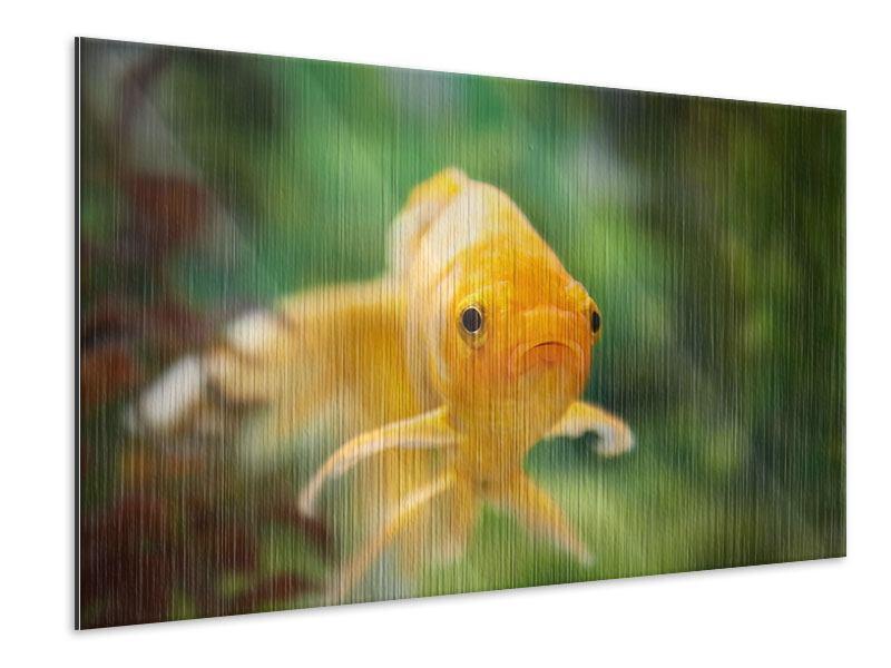 Metallic-Bild Der Fisch